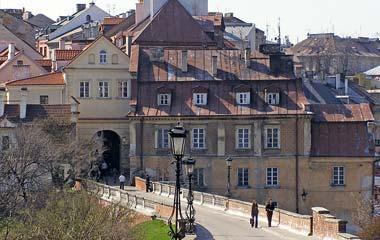 Brama Grodzka, widok od strony Zamku Lubelskiego