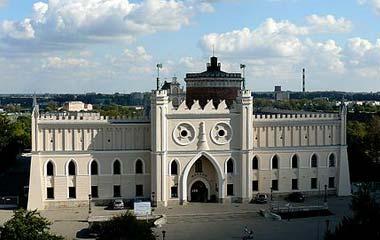 Zamek w Lublinie od strony zachodniej