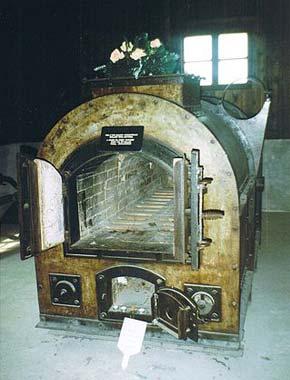 Krematorium w niemieckim obozie koncentracyjny Majdanek w Lublinie