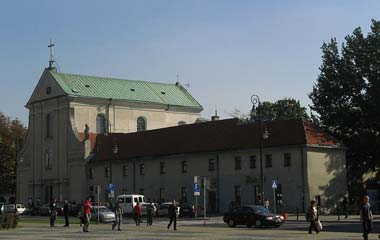 Kościół Kapucynów św. Piotra i Pawła w Lublinie