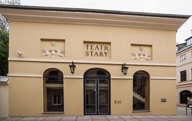 Wejście główne do Teatru Starego