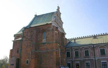 Przyzamkowa kaplica Trójcy Świętej przed renowacją
