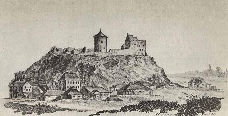 Zamek lubelski w 1810 roku